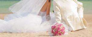 heiraten mallorca brautpaar strand