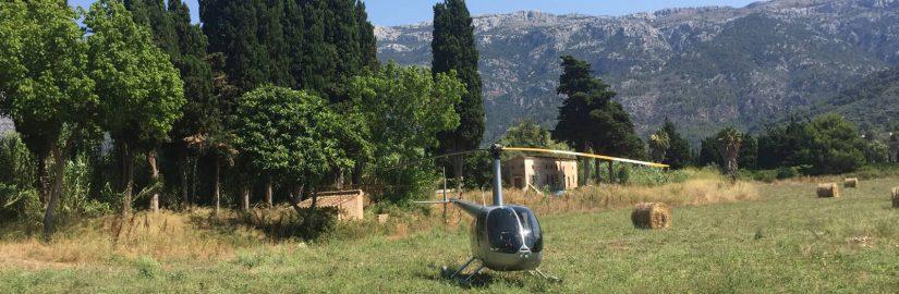 Helikopterrundflug Mallorca Heiratsantrag